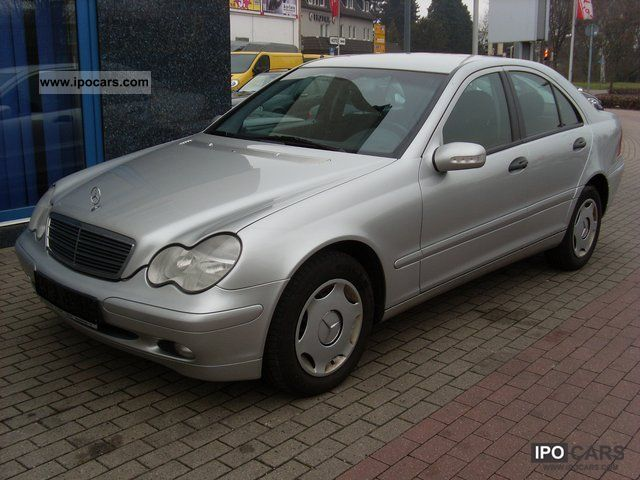 2000 mercedes benz c 200 model with a new check book car for Mercedes benz 2000 models