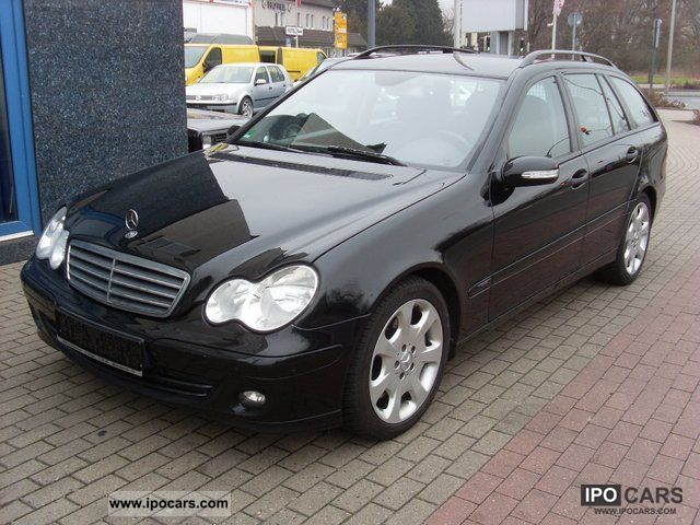 2005 mercedes benz c 220 cdi with dpf leather pdc car photo and specs. Black Bedroom Furniture Sets. Home Design Ideas