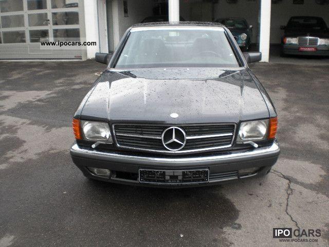 1991 mercedes benz 420 sec first hand car photo and specs for Mercedes benz 420