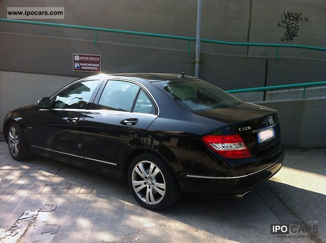 2008 mercedes benz new mercedes c 220 cdi avant guard car photo and specs. Black Bedroom Furniture Sets. Home Design Ideas