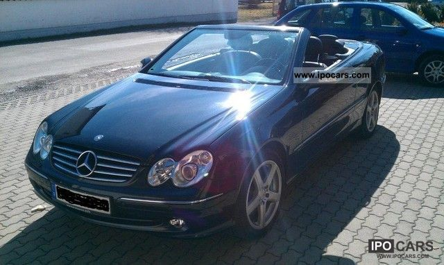 2004 mercedes benz clk 500 avantgarde car photo and specs for 2004 mercedes benz clk 500