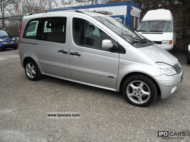 2002 mercedes benz cdi vaneo 1 7 family car photo and specs