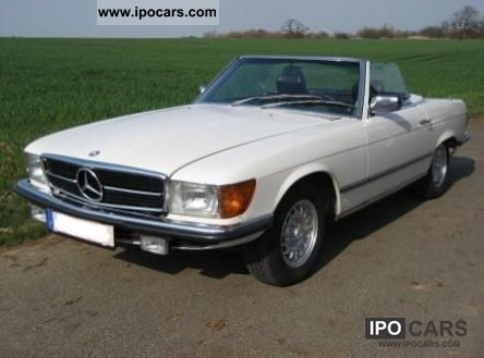 1983 mercedes benz sl 280 automatic g kat euro 2 car. Black Bedroom Furniture Sets. Home Design Ideas