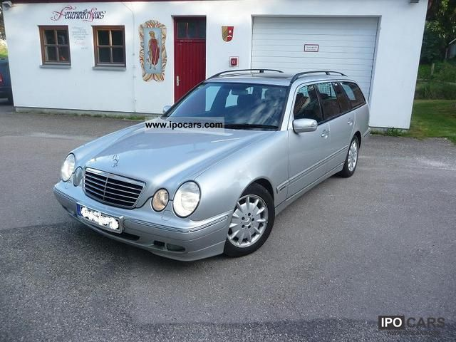 2001 mercedes benz e 220 cdi avantgarde automatic xenon car photo and specs. Black Bedroom Furniture Sets. Home Design Ideas