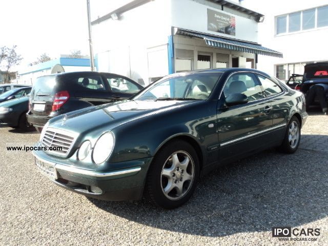 1997 Mercedes-Benz  CLK Coupe 200 Elegance LPG system, leather ... Sports car/Coupe Used vehicle photo