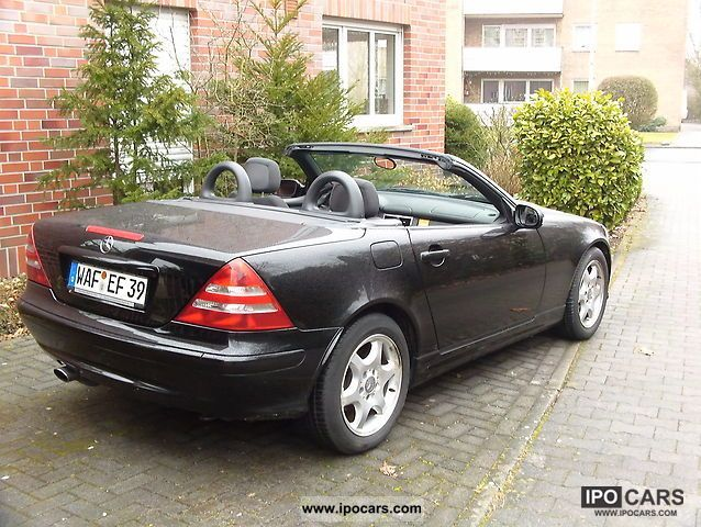 2002 mercedes benz slk 230 kompressor car photo and specs. Black Bedroom Furniture Sets. Home Design Ideas