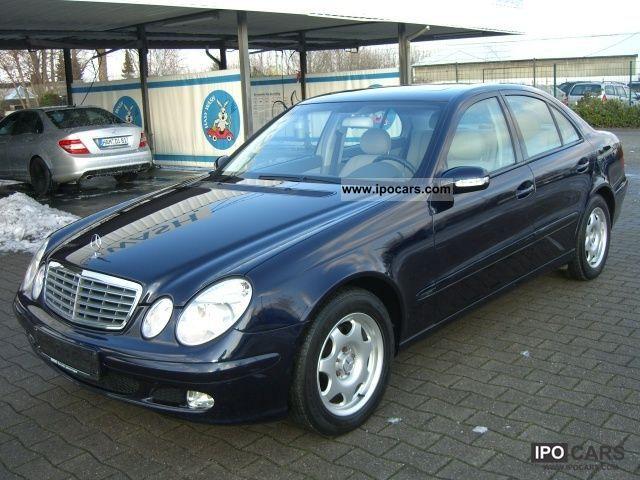 2003 Mercedes Benz E 220 Cdi Classic Sunroof Car Photo