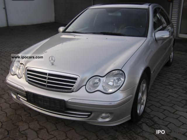2004 mercedes benz c 220 cdi avantgarde auto dpf car photo and specs. Black Bedroom Furniture Sets. Home Design Ideas