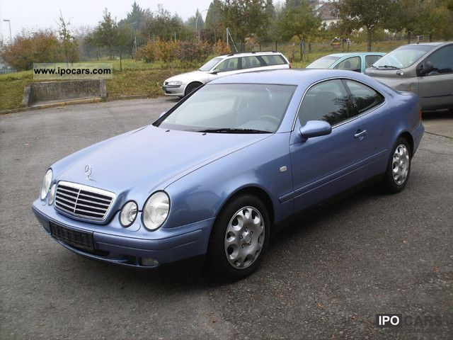 1998 mercedes benz clk coupe 320 elegance car photo and