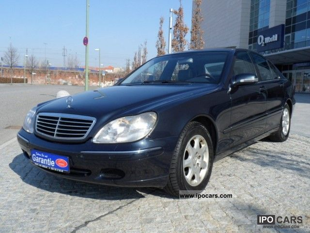 2001 mercedes benz s 320 cdi xenon leather navi sunroof car photo and specs. Black Bedroom Furniture Sets. Home Design Ideas