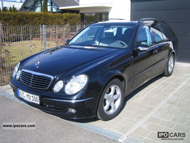 2005 mercedes benz e 240 avantgarde t car photo and specs. Black Bedroom Furniture Sets. Home Design Ideas