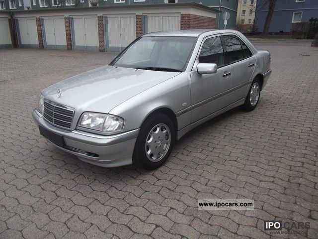 1998 mercedes benz c 220 cdi elegance car photo and specs. Black Bedroom Furniture Sets. Home Design Ideas