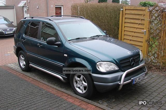 1999 mercedes benz ml 320 car photo and specs for Mercedes benz 1999 ml320