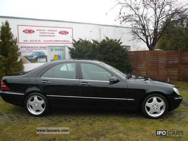 2001 mercedes benz s 320 keyless go xenon leather navi for Mercedes benz keyless go
