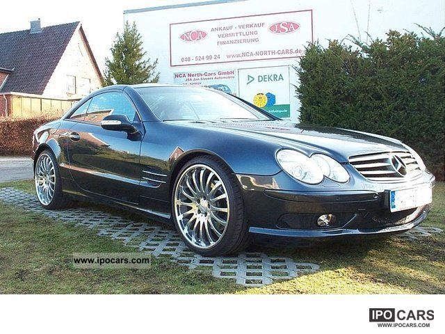 2003 mercedes benz sl 500 amg styling 20 inch panoramic roof carlson car photo and specs. Black Bedroom Furniture Sets. Home Design Ideas