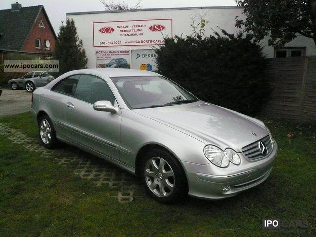 Image gallery 2003 mercedes coupe for Mercedes benz cl 240