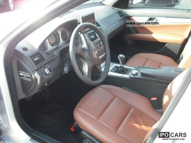 2008 mercedes benz c 220 cdi dpf comand xenon leather cognac brown car photo and specs. Black Bedroom Furniture Sets. Home Design Ideas