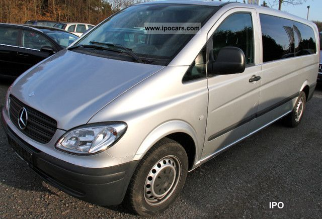 2009 Mercedes-Benz  Vito 111 CDI Extra Long \ Van / Minibus Used vehicle photo