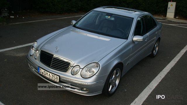2005 mercedes benz e 320 cdi 7g tr avantg sports package for Mercedes benz keyless go