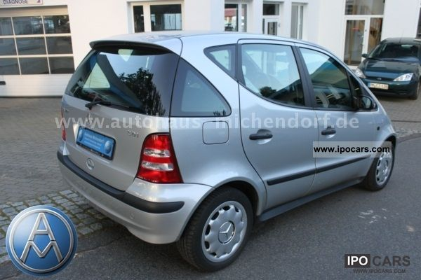 2004 mercedes benz a 170 cdi automatic climate and dpf. Black Bedroom Furniture Sets. Home Design Ideas