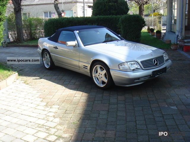 1997 mercedes benz sl 320 car photo and specs. Black Bedroom Furniture Sets. Home Design Ideas