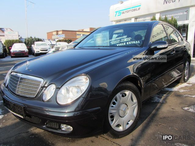 2004 mercedes benz e 220 cdi classic klimaaut automatic aluminum navi c car photo and specs. Black Bedroom Furniture Sets. Home Design Ideas
