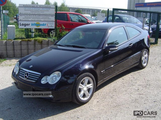 Captivating 2004 Mercedes Benz C 200 CDI Sports Coupe DPF Indianapolis Sports Car/Coupe  Used ...