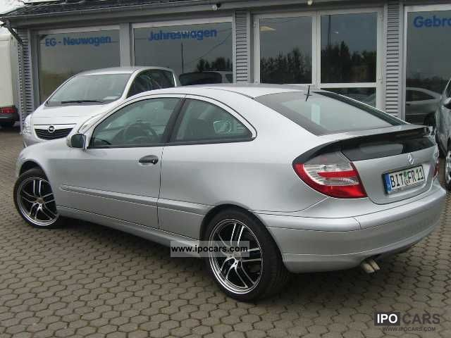 2005 mercedes benz c 220 cdi sports coupe dpf car photo and specs. Black Bedroom Furniture Sets. Home Design Ideas