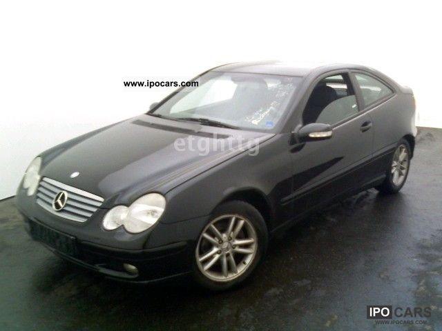 2000 Mercedes-Benz  C 180 Sport Coupe, KLIMAATRONIK, cruise control .....! Sports car/Coupe Used vehicle photo