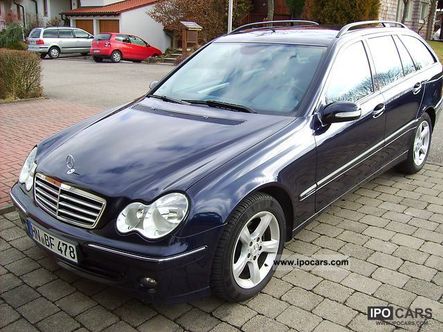 2005 mercedes benz c 220 t cdi avantgarde auto dpf car. Black Bedroom Furniture Sets. Home Design Ideas