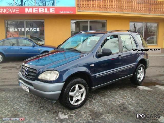 2000 Mercedes Benz Ml 270 Cdi 2 7 W Zarejestrowany Kraju Off Road Vehicle Pickup Truck