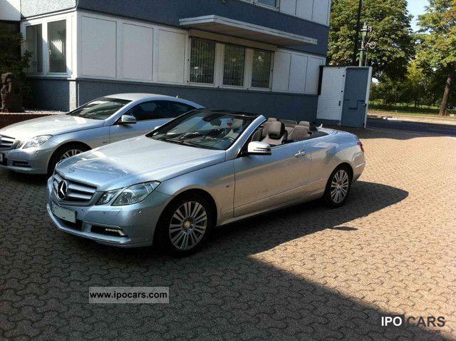 2010 mercedes benz e 250 cgi blueefficiency automatic for Mercedes benz convertible 2010