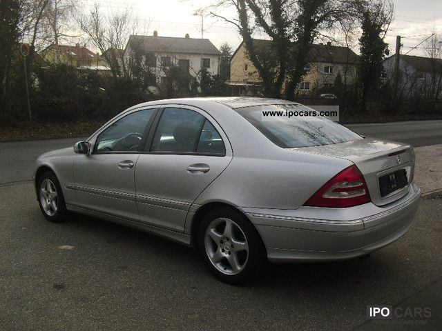 2001 mercedes benz c 200 cdi 6 speed cruise control 1 hand car photo and specs. Black Bedroom Furniture Sets. Home Design Ideas