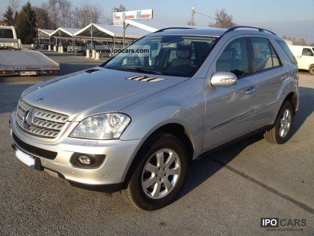 2006 mercedes benz ml 320 cdi chrome car photo and specs
