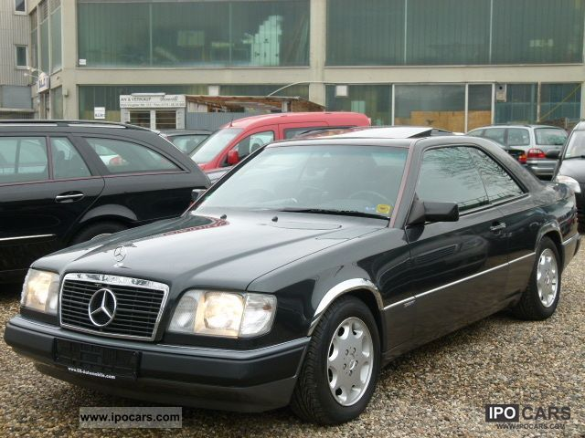 1991 mercedes benz 230 ce sportline 66 000 km car photo and specs. Black Bedroom Furniture Sets. Home Design Ideas