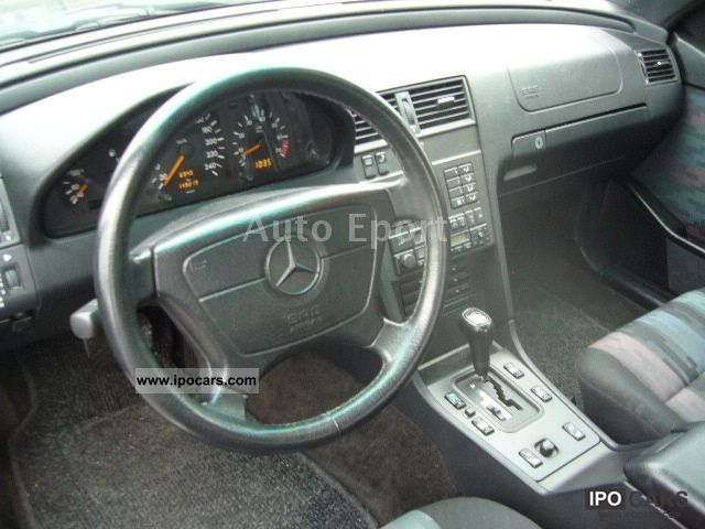1995 Mercedes Benz C 180 Automatic Air Top Car