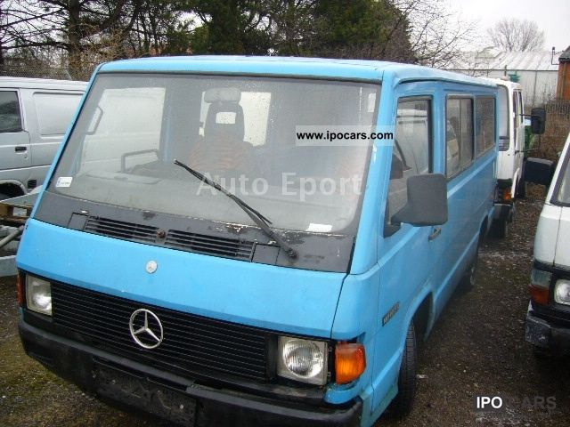 1991 mercedes benz mb 100 d lang car photo and specs. Black Bedroom Furniture Sets. Home Design Ideas