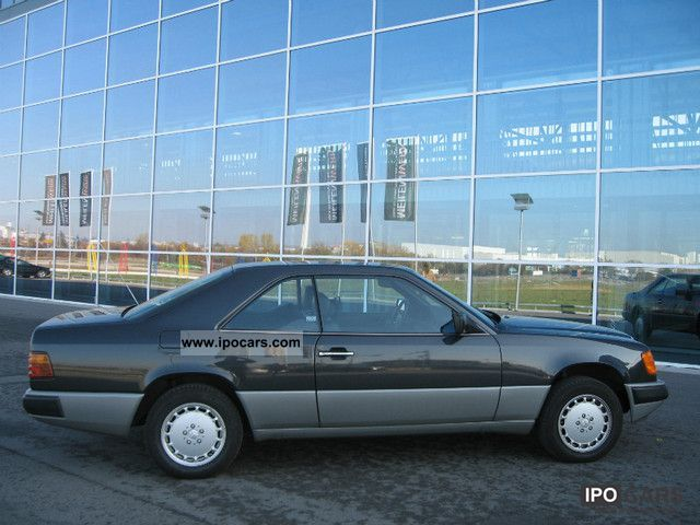 1988 mercedes benz 230 ce german car photo and specs. Black Bedroom Furniture Sets. Home Design Ideas