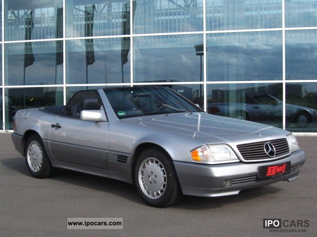 1994 mercedes benz german top 320 sl maintained car photo and specs. Black Bedroom Furniture Sets. Home Design Ideas