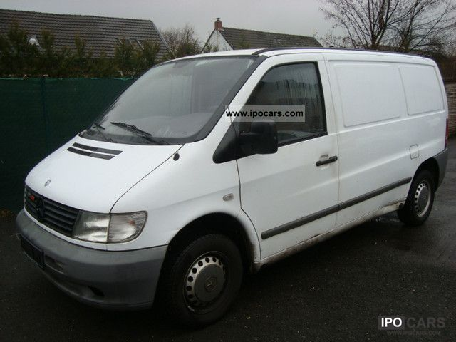 2002 Mercedes-Benz  Vito 108 CDI 3 seater Van / Minibus Used vehicle photo