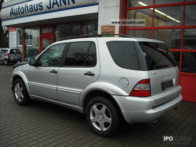 2001 mercedes benz ml 55 amg navi xenon leather tiptr s for Mercedes benz ml 55