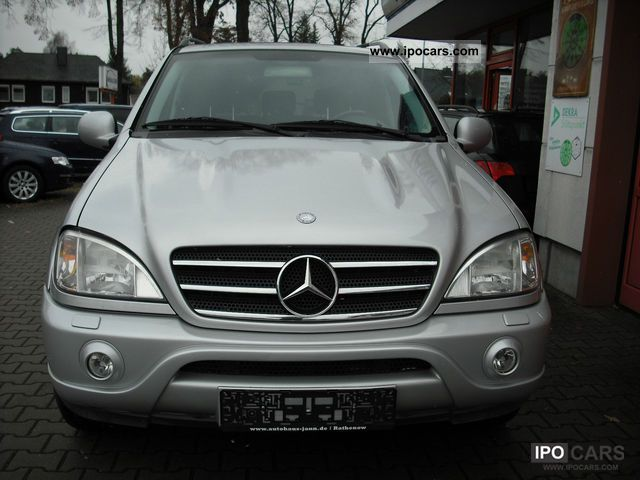2001 mercedes benz ml 55 amg navi xenon leather tiptr s dach bose car photo and specs. Black Bedroom Furniture Sets. Home Design Ideas