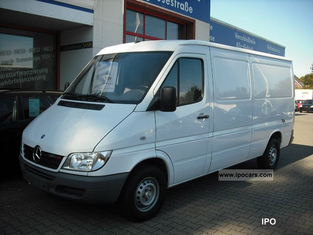 2005 mercedes benz sprinter 313 cdi long tkm 58 1 possession navigation car photo and specs. Black Bedroom Furniture Sets. Home Design Ideas