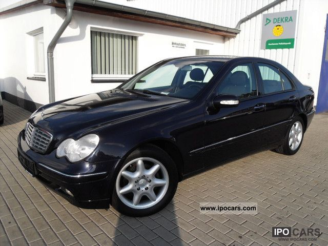 2000 mercedes benz c 200 kompressor elegance car photo and specs. Black Bedroom Furniture Sets. Home Design Ideas