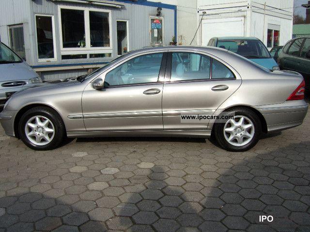 2003 mercedes benz c 200 cdi ahn ngekupplung service for Mercedes benz book