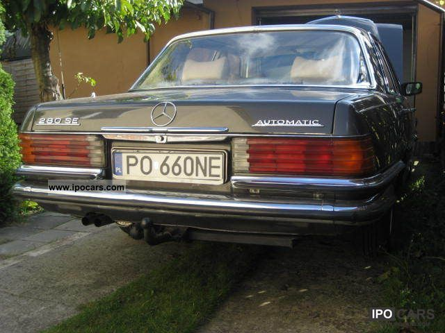 Mercedes-Benz  280 1979 Vintage, Classic and Old Cars photo