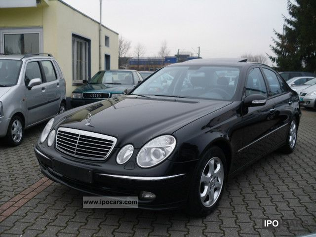 2006 Mercedes-Benz  E 350 Avantgarde 7G-TRONIC fully equipped top Limousine Used vehicle photo