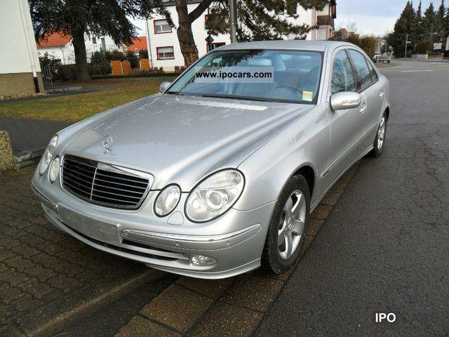 2002 Mercedes-Benz  E 320 CDI Avantgarde) (EURO 3) (AUTOMATIC) Limousine Used vehicle photo
