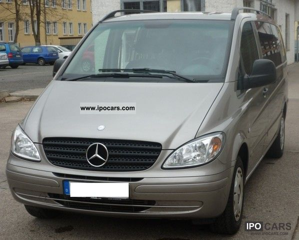 2009 mercedes benz vito 115 cdi long dpf car photo and specs. Black Bedroom Furniture Sets. Home Design Ideas
