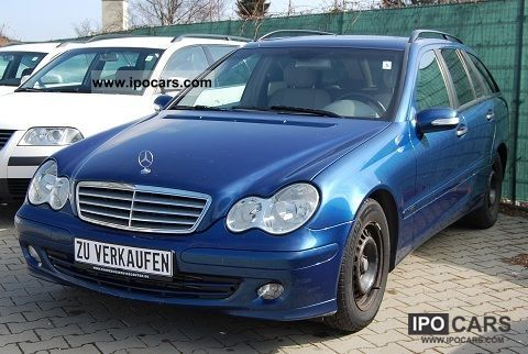 2004 Mercedes-Benz  C 200 CDI Elegance DPF Estate Car Used vehicle photo